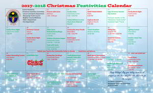 Christmas Festivities 2017 Schedule of Activities Thumbnail