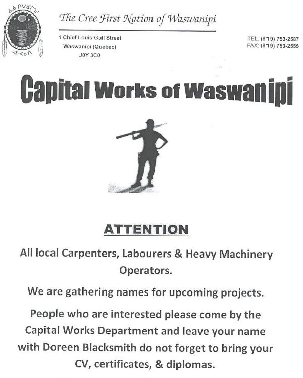 Capital Works Project 2013