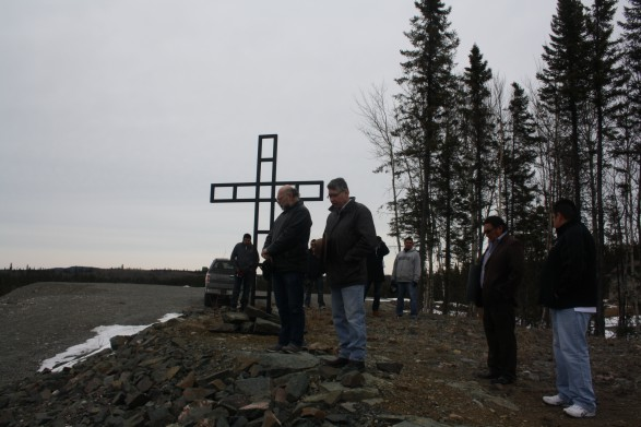 Community cross dedication